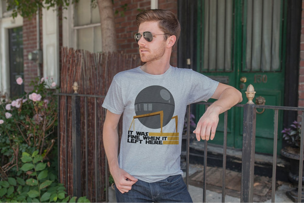 Image of H&W Death Star Construction Tee