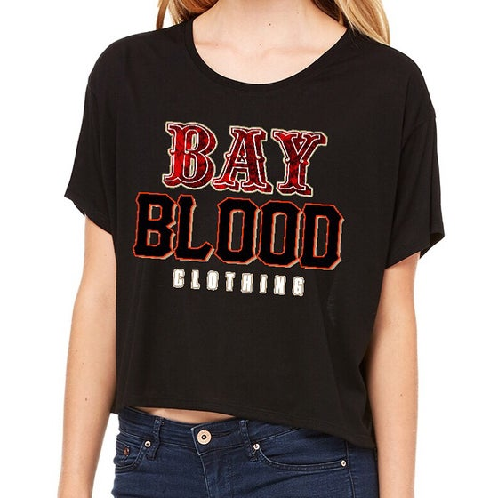 Image of Women's Bay Blood Frisco Boxie Tees