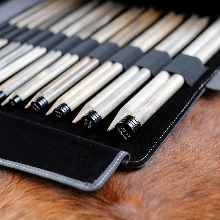 """Image of Lykke """"Driftwood"""" straight needles"""