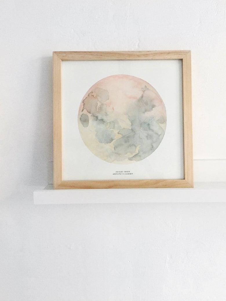 Image of Desert Moon Print - 12 x 12