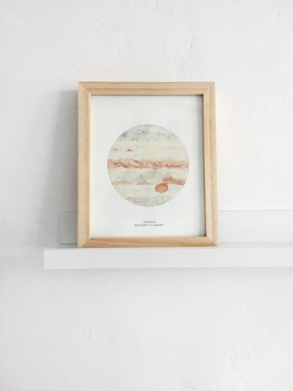 Image of Jupiter Print - 8 x 10