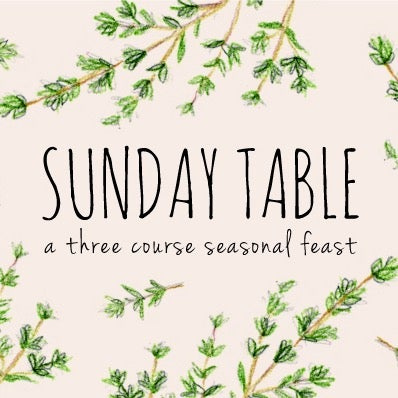 Image of Sunday Table 28th May 2017