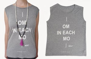 "Image of Women Eco Tank Top  ""OM IN EACH MO"""