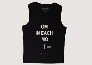 "Image of Men Eco Tank Top ""OM IN EACH MO"""