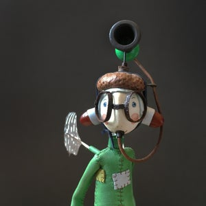 Image of 'Warning Horn Helmet Fairy' by Samantha Bryan.