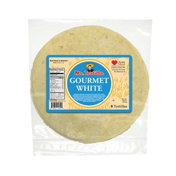 "Image of 8"" Gourmet White - 8 Count"
