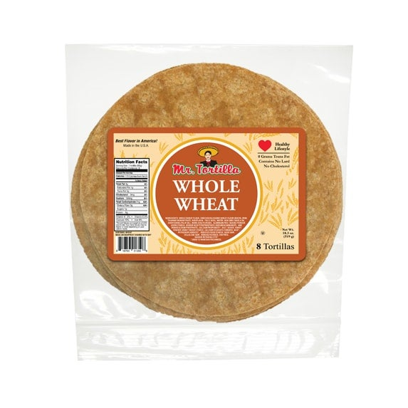 """Image of 8"""" Whole Wheat - 8 Count"""