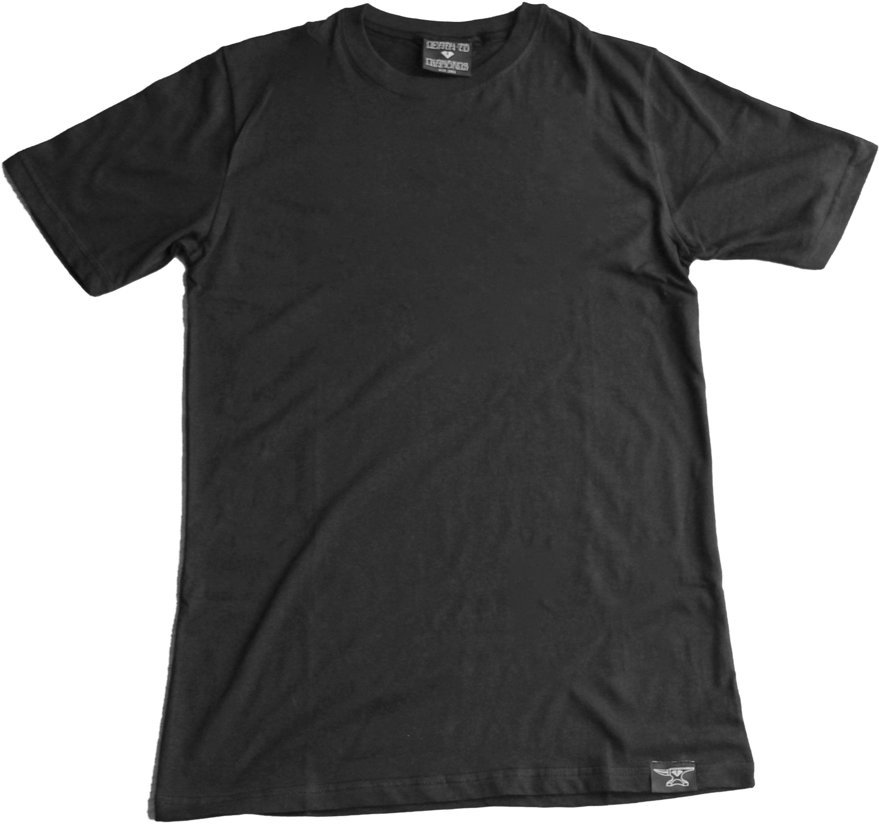 Death to Diamonds — Custom Blank Black T-Shirt