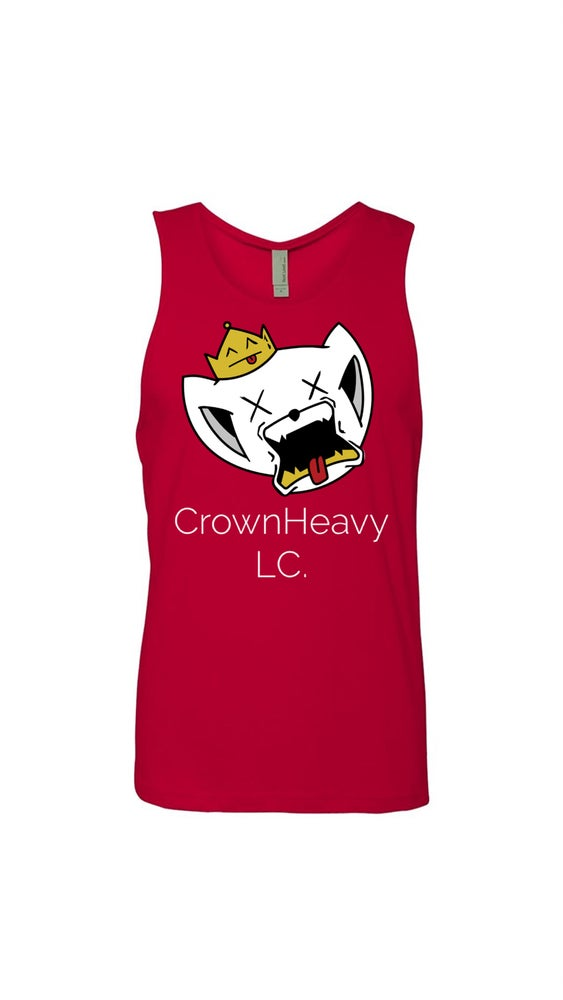 Image of Red Cat Tank Top
