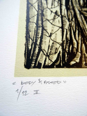 Image of GHOST Body And Blood limited handprint