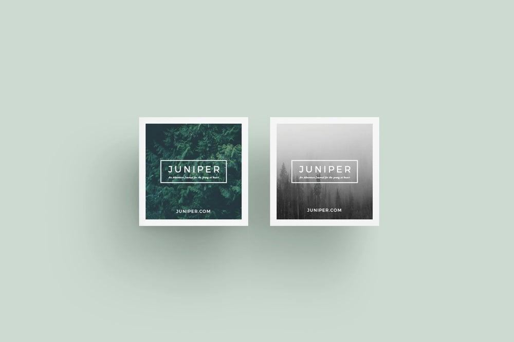 Image of J U N I P E R Letterhead + Comps