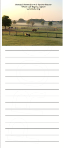 "Image of ""Morning at the Rescue"" Magnetic Note Pads"