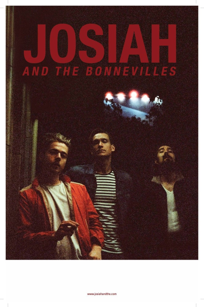 Image of Josiah and the Bonnevilles Live Concert Poster