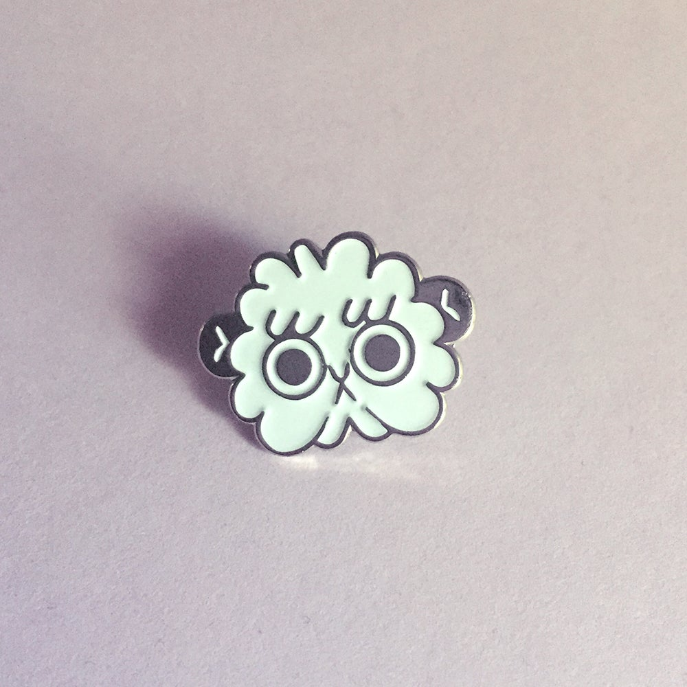 Image of Cloud Chimp pin