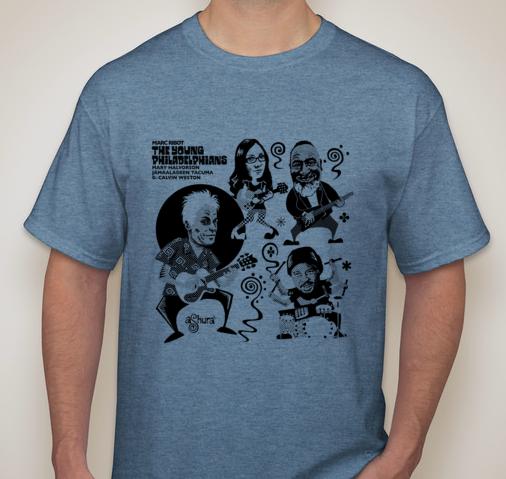 The Young Philadelphians - T Shirt MENS BLUE