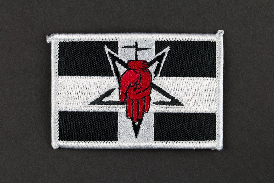 Image of Red Hand Patch