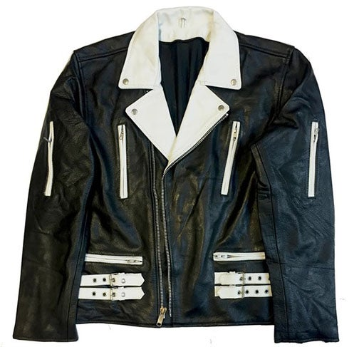 "Image of Rock Hard Vintage Biker Leather ""Tuxedo"""