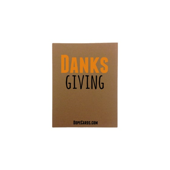 Image of Danks giving (6 cards)