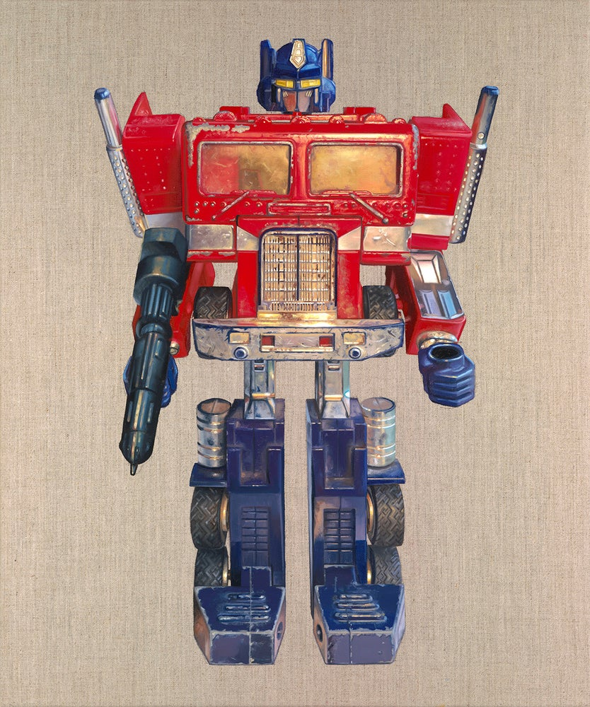 Image of OPTIMUS PRIME // LIMITED EDITION PRINT