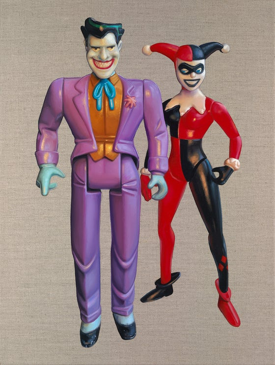 Image of JOKER & HARLEY QUINN // LIMITED EDITION PRINT
