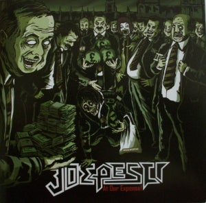 "Image of Joe Pesci ""At Our Expense"" CD"