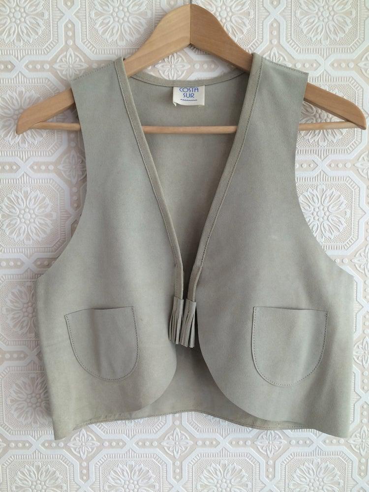 Image of COSTA SUR- Women's Playa Suede Vest