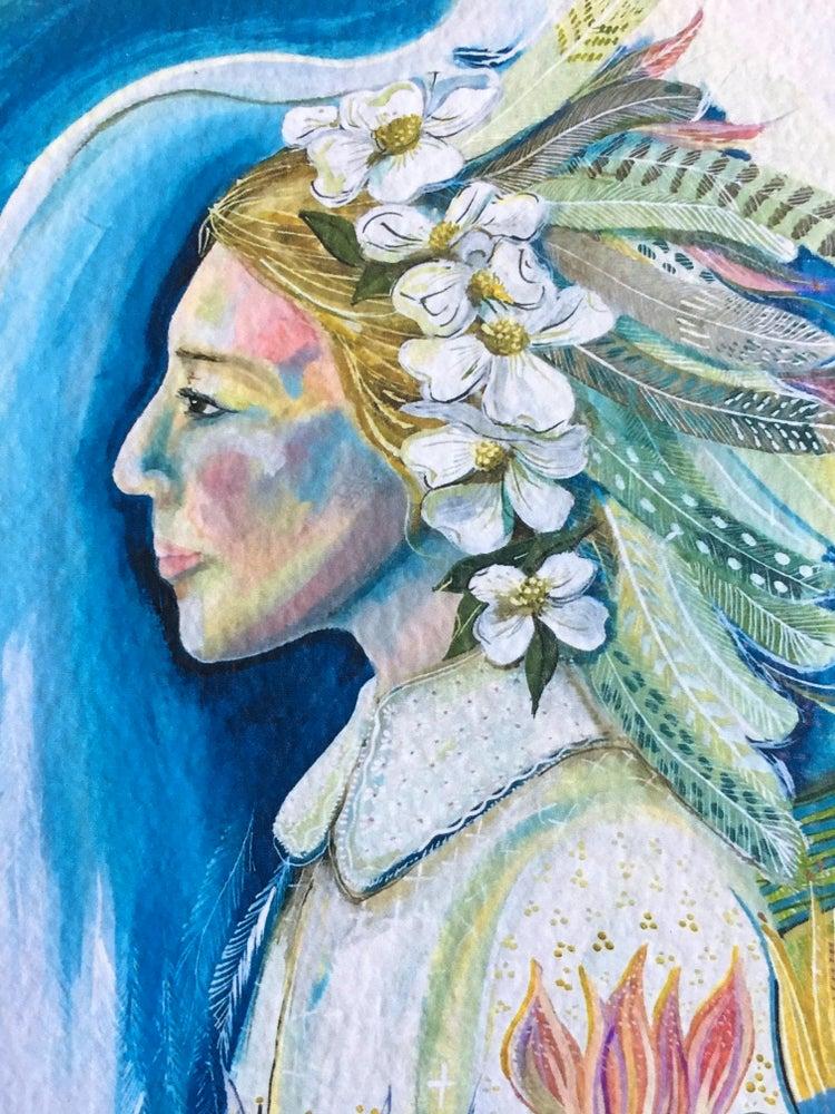 Image of Cailín Eala / Swan Girl