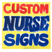 Image of Custom Hand-Painted Sign by Nurse
