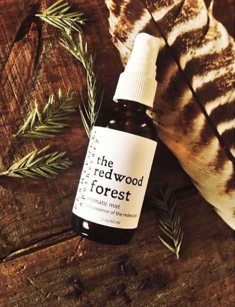 Image of The Redwood Forest {tree essence mist}