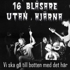 Image of 16 BLÅSARE UTAN HJÄRNA-Vi Ska Gå Till Botten Med Det Här LP