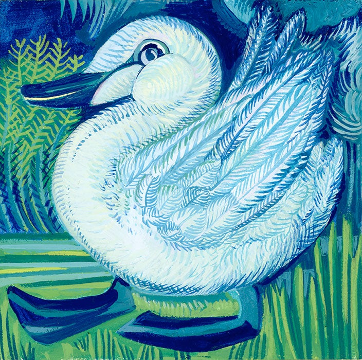 Image of Swan (Framed)