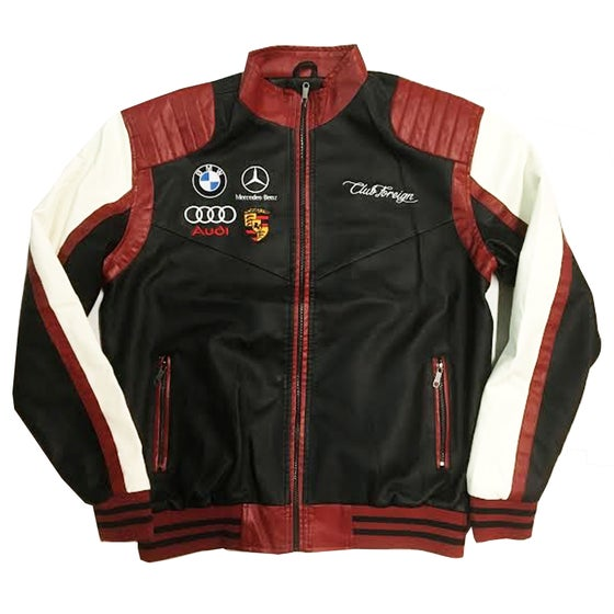"""Image of Club Foreign """"Premium"""" Race Jacket """"Maroon"""""""