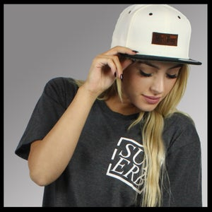 Image of Old English Leather Patch SnapBack