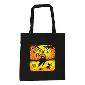 Image of Canvas Trick Or Treat Tote Bag