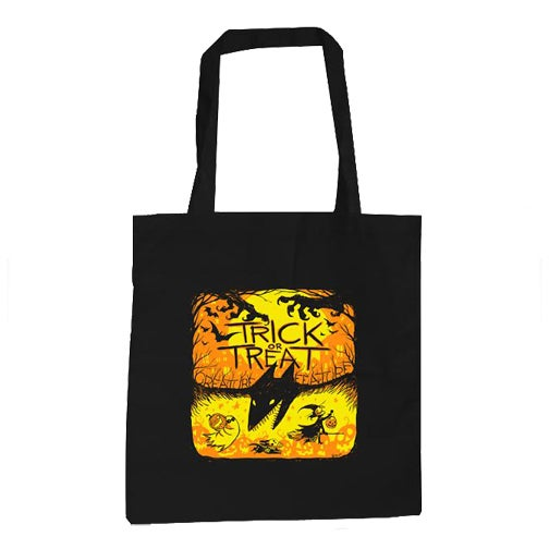 Image of Trick Or Treat Canvas Tote Bag