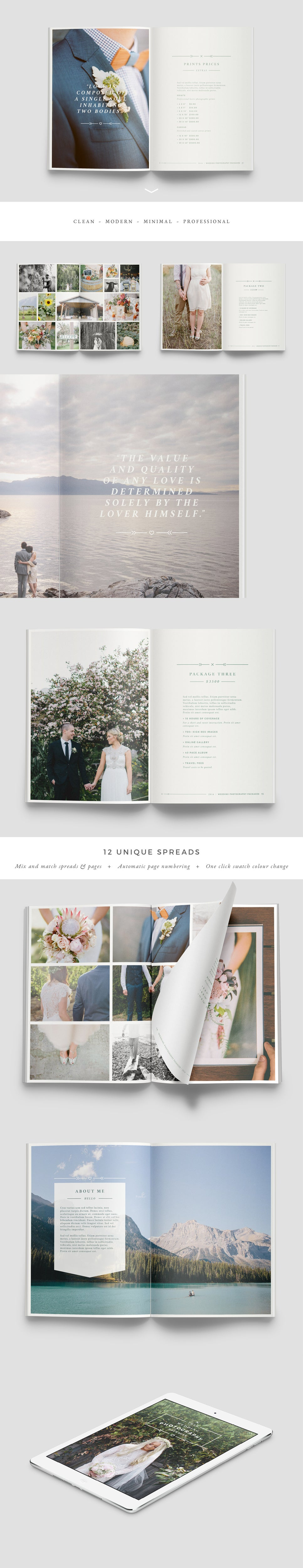 Image of WANDERERS Photography Brochure