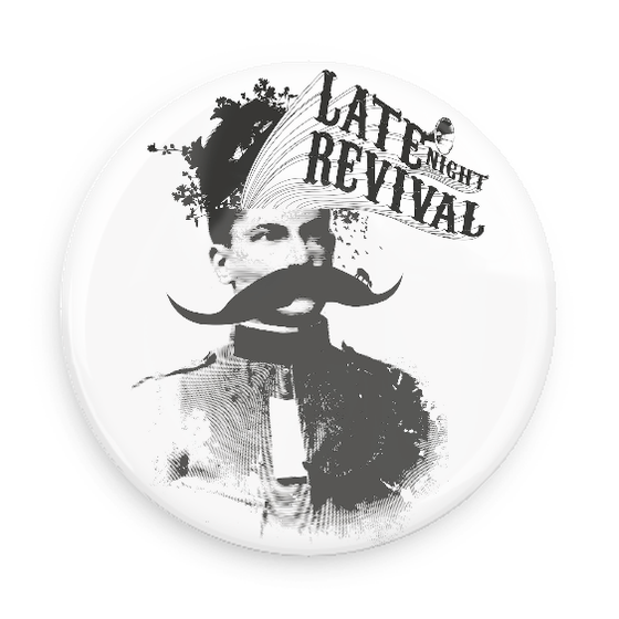Image of Mustache Button