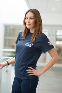 Image of Adults Union Navy Blue T-Shirt