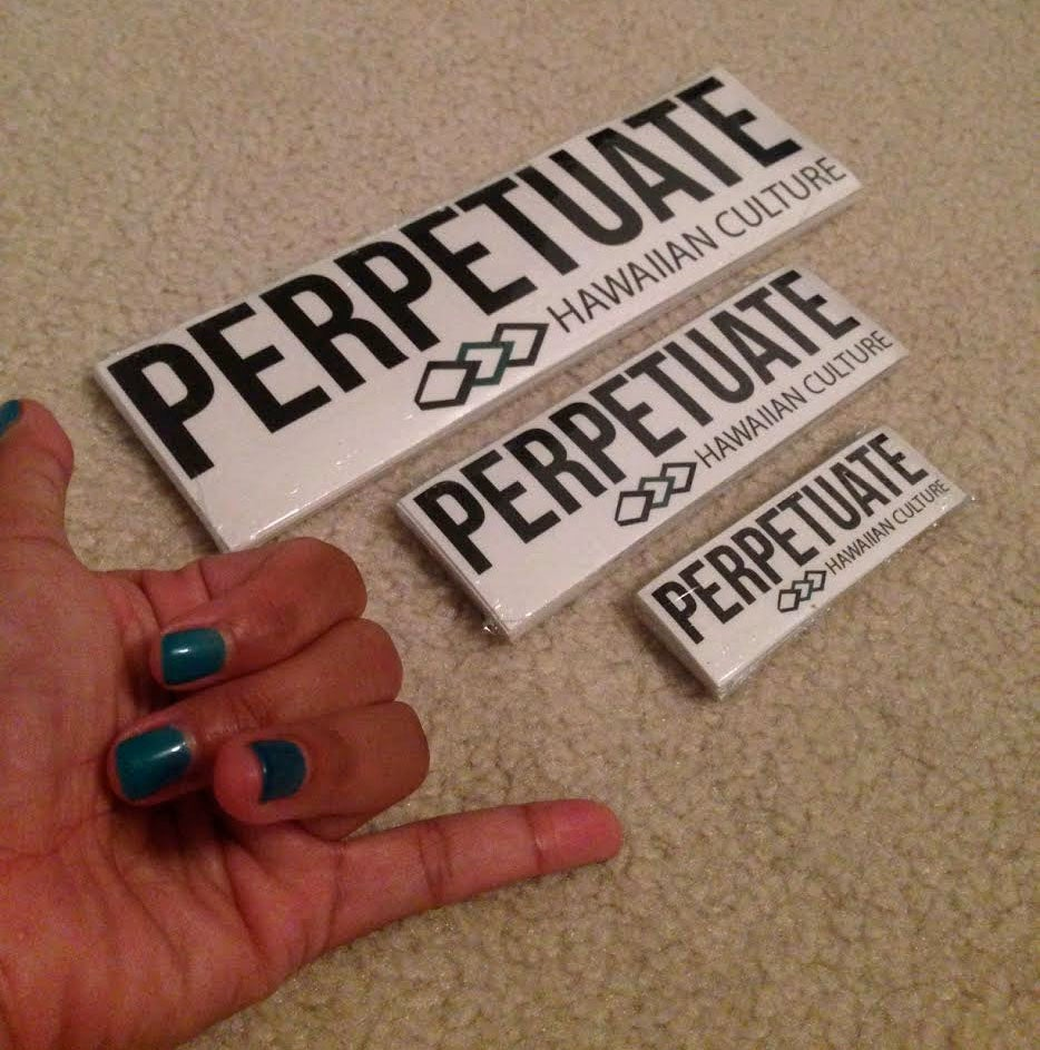 Image of Perpetuate Logo Sticker
