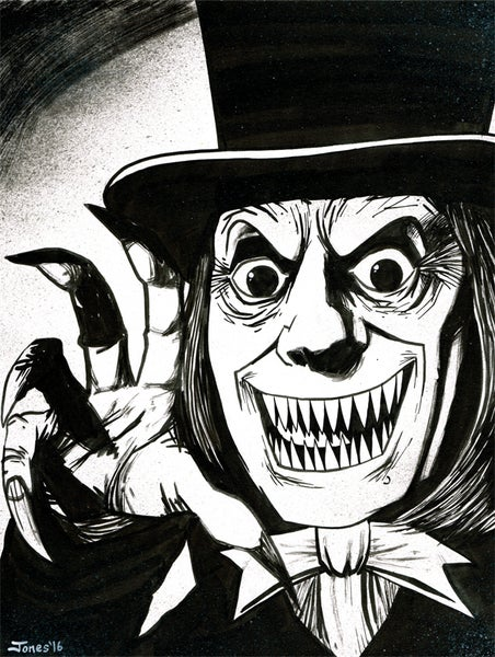 Image of 'London After Midnight' Original Painting