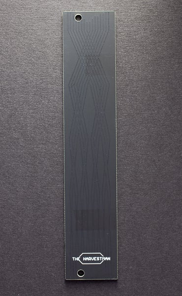 Image of 5 HP blank faceplate