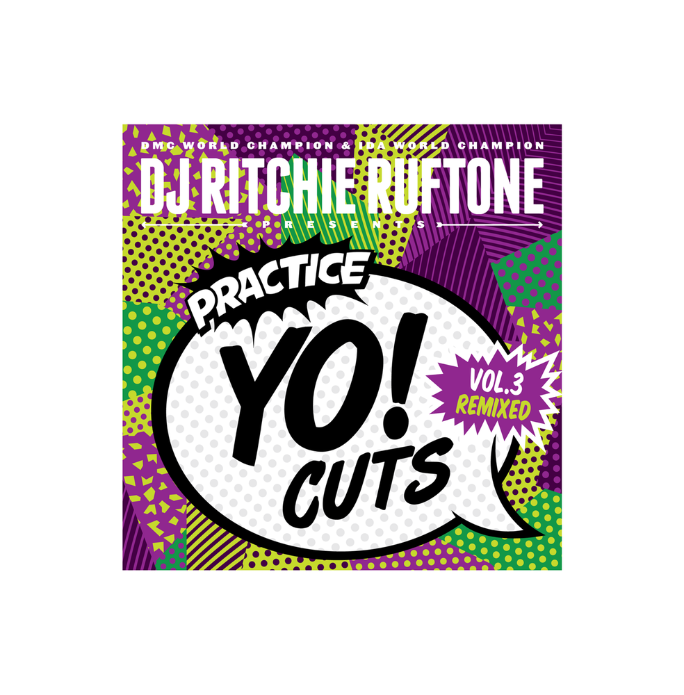 "Image of Practice Yo! Cuts V3 remixed (solid green 7"" Skratch Record)"