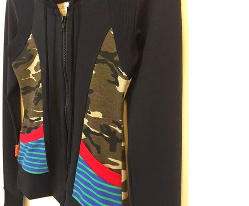 Image of Dance Camo Hoody Sports Jacket