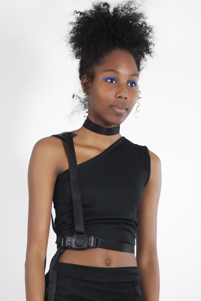 Image of SHOULDER STRAPPED WAIST BELT