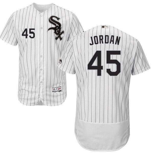 bbad3478650 Image of White Chicago White Sox 2014 free shipping Chicago White Sox 45  Michael Jordan blackwhite mens stitched baseball jersey, free ...