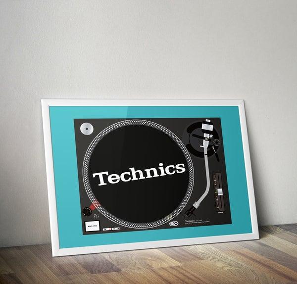 Image of (A2) Technic 1210 MK2 (Unframed)