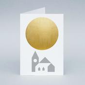 Image of Winter Sun Church card