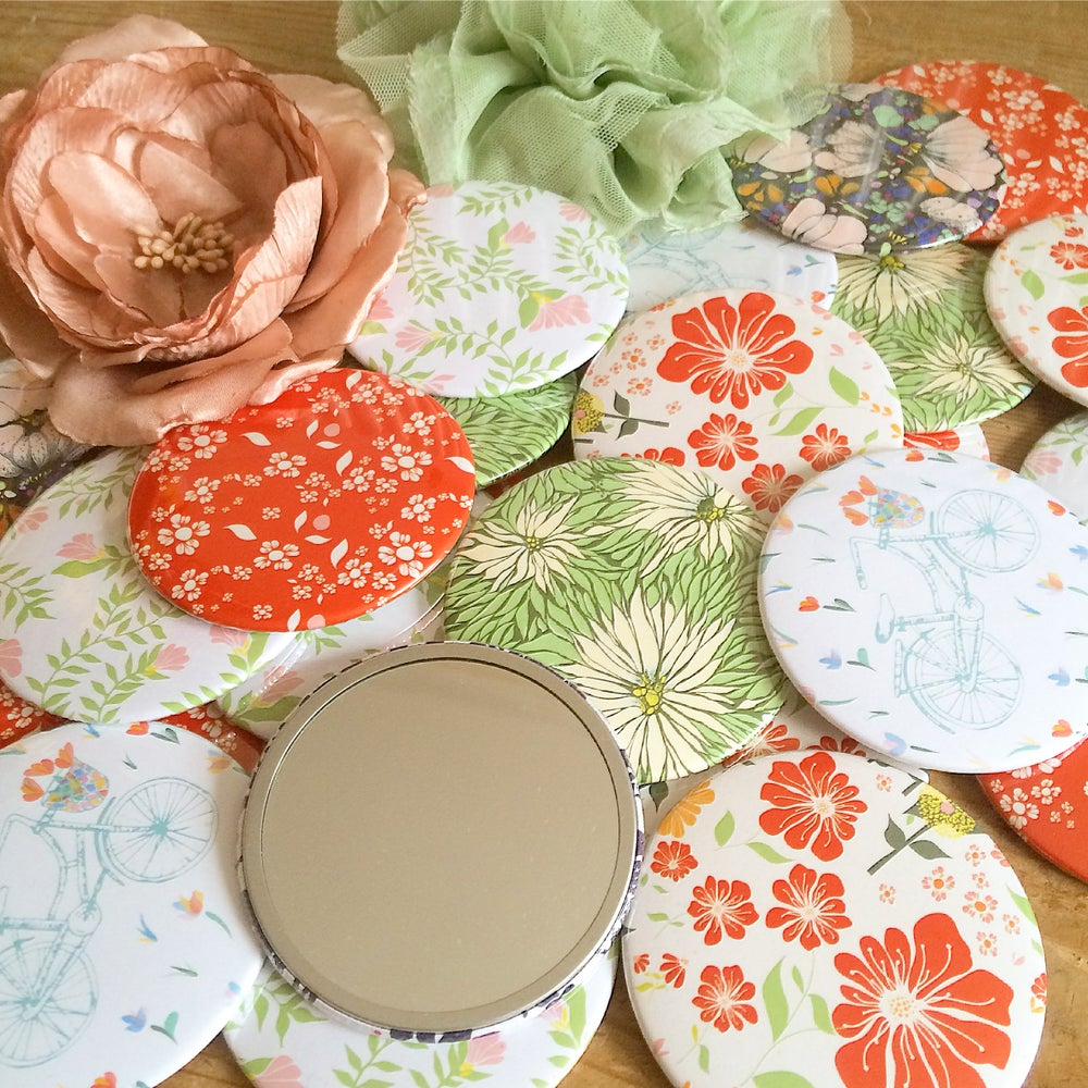 Image of Pocket Mirrors      - Assorted Designs -