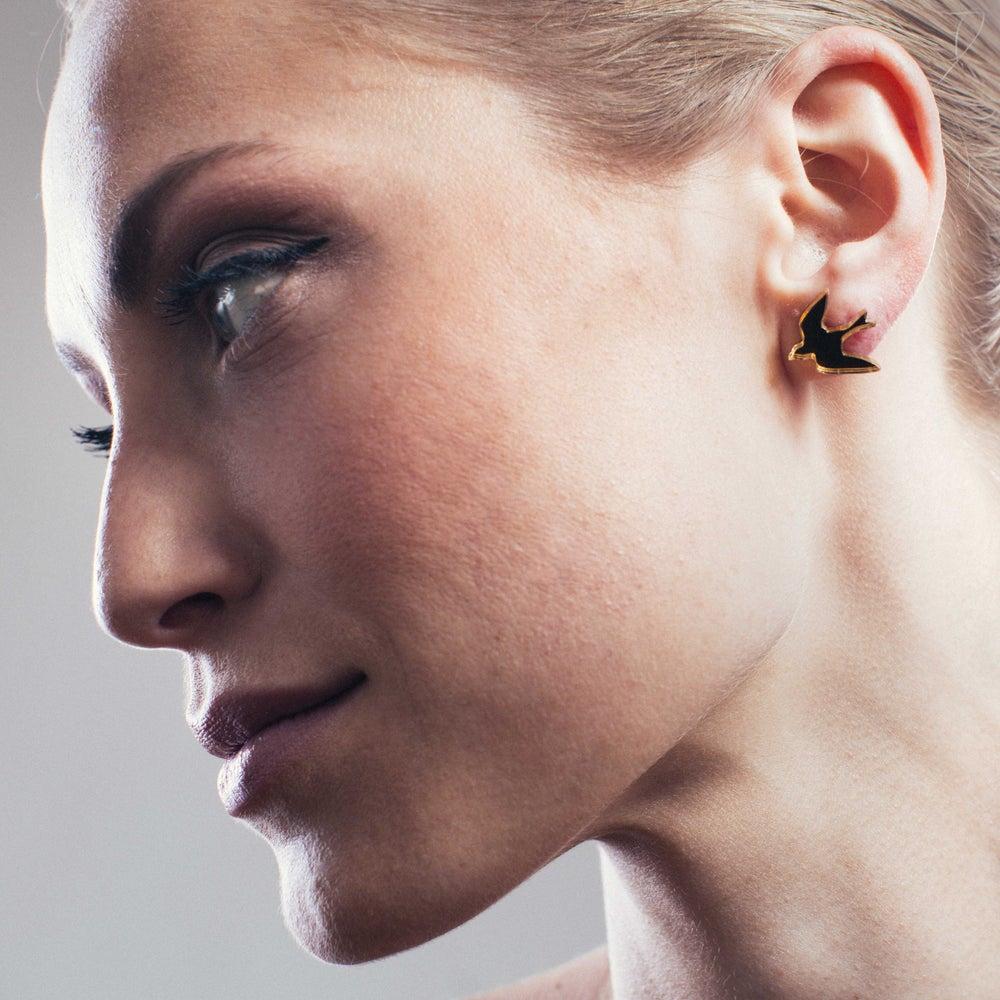 Image of Náušnice / Earrings Birds