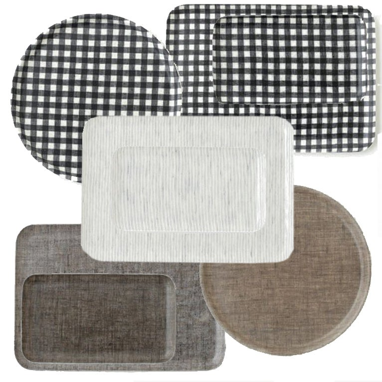 Image of Linen Coated Trays